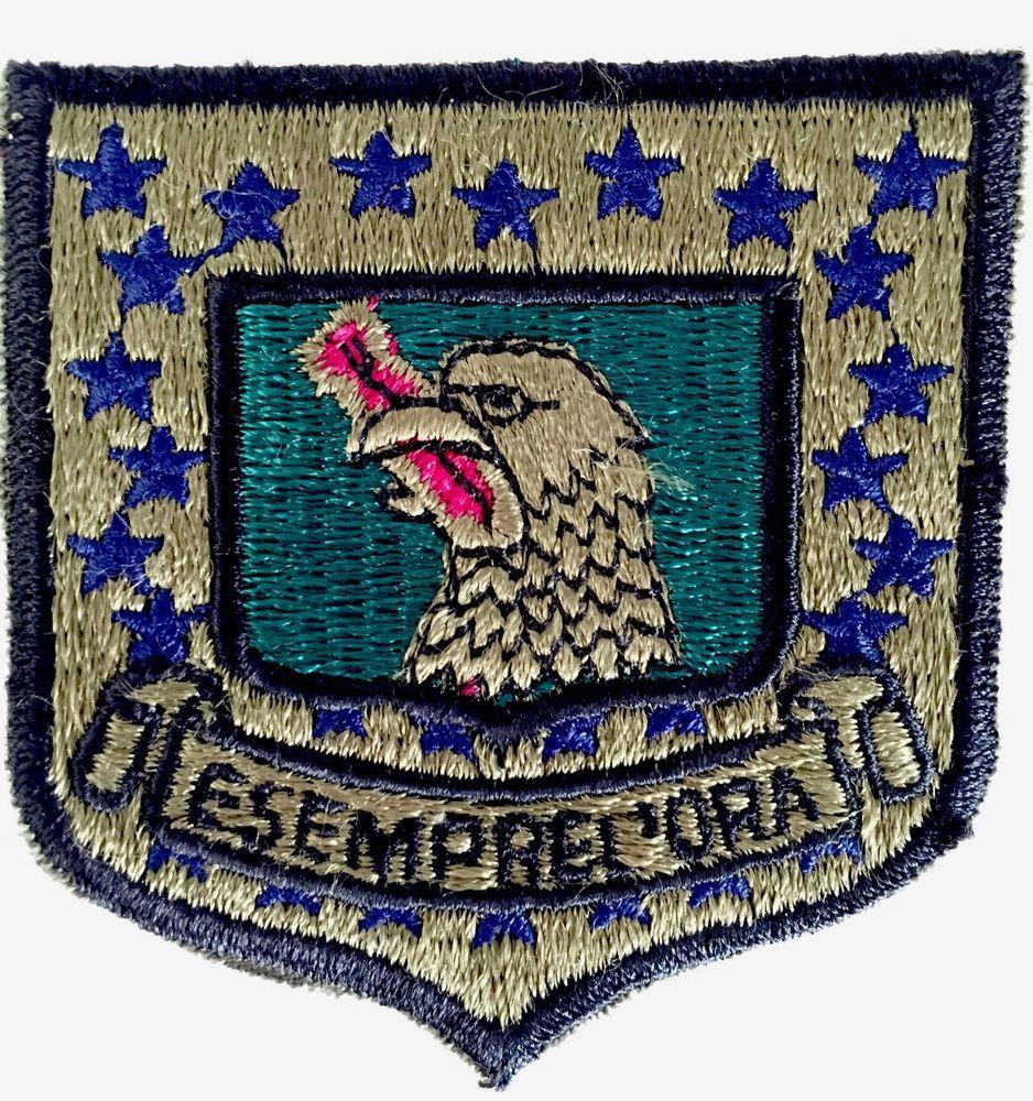 E Sempre L'Ora USAF Military Patch 96th Bomb Squadron