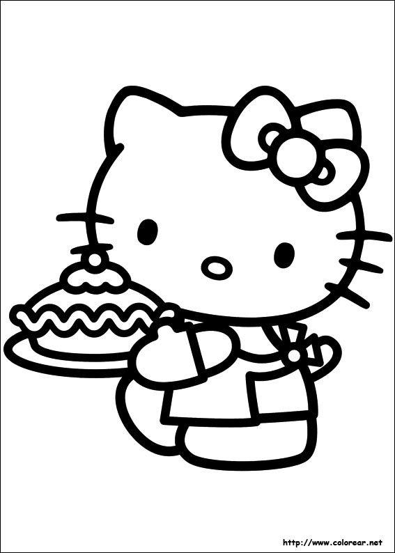 Web Dibujos P Colorear Hello Kitty Imprimible Hello Kitty Para