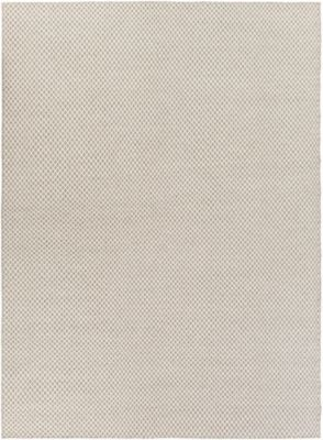 Surya Ravena 8 X 11 Handwoven Area Rug In Taupe Cream Neutral Fabric Chenille Fabric Hand Weaving