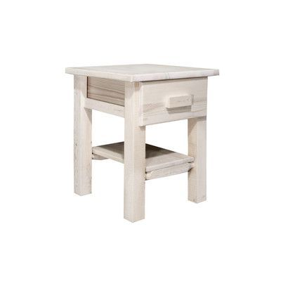 Montana Woodworks Homestead 1 Drawer Nightstand Finish: Ready To Finish