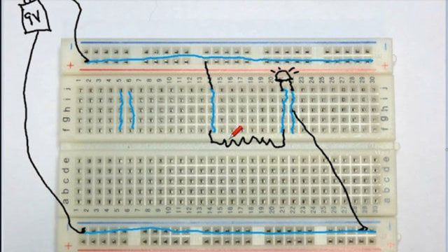 basic electronics tutorial 2 electricity basic circuit rh pinterest com