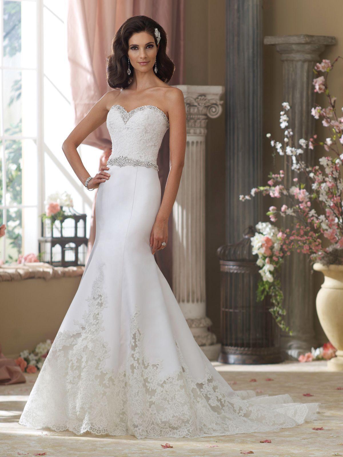 Trumpet Wedding Dresses Sweetheart Neckline