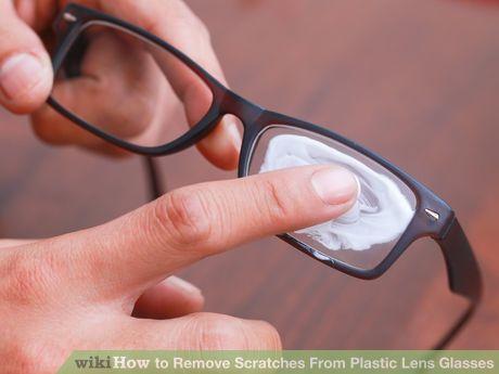 remove scratches from plastic lens glasses tips helpful tips bril hoeden huismiddeltjes. Black Bedroom Furniture Sets. Home Design Ideas