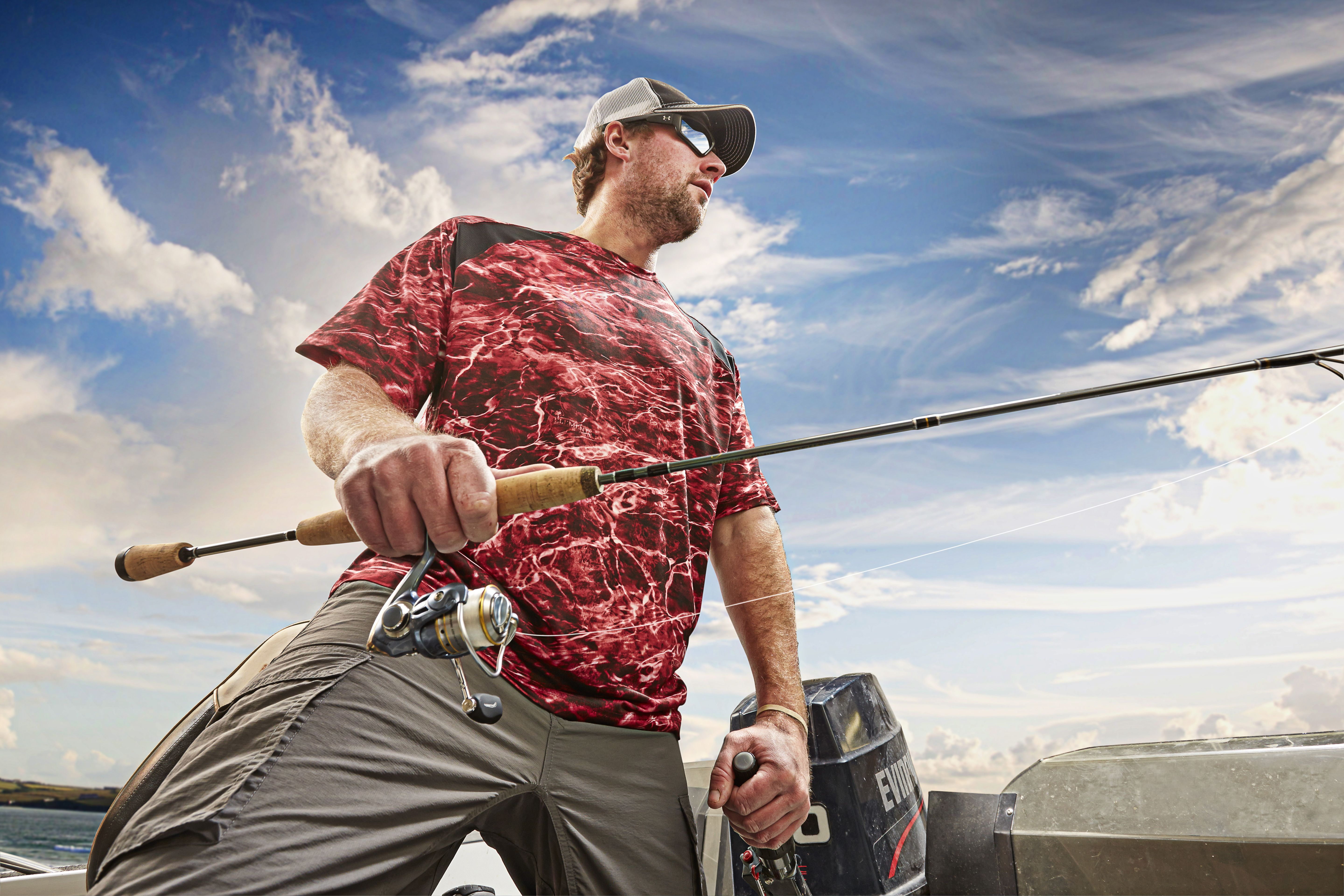 875d4cc480 Performance Short Sleeve Fishing Shirt with Mossy Oak elements is designed  to keep you protected from the bugs and the sun so you can stay out on the  water ...