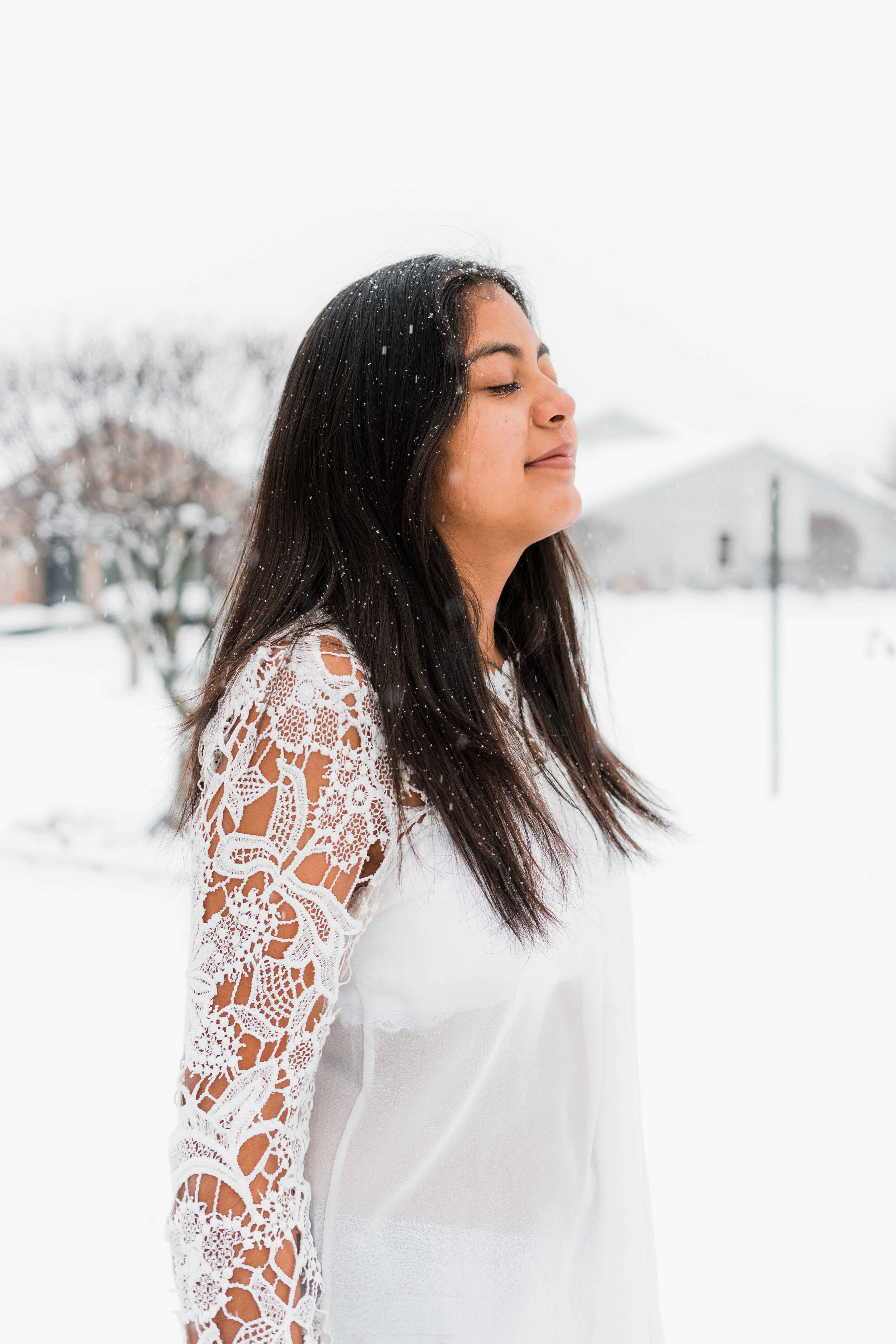 Photo Diary- Snowday in Indiana!   Photoshoot ideas and Photography