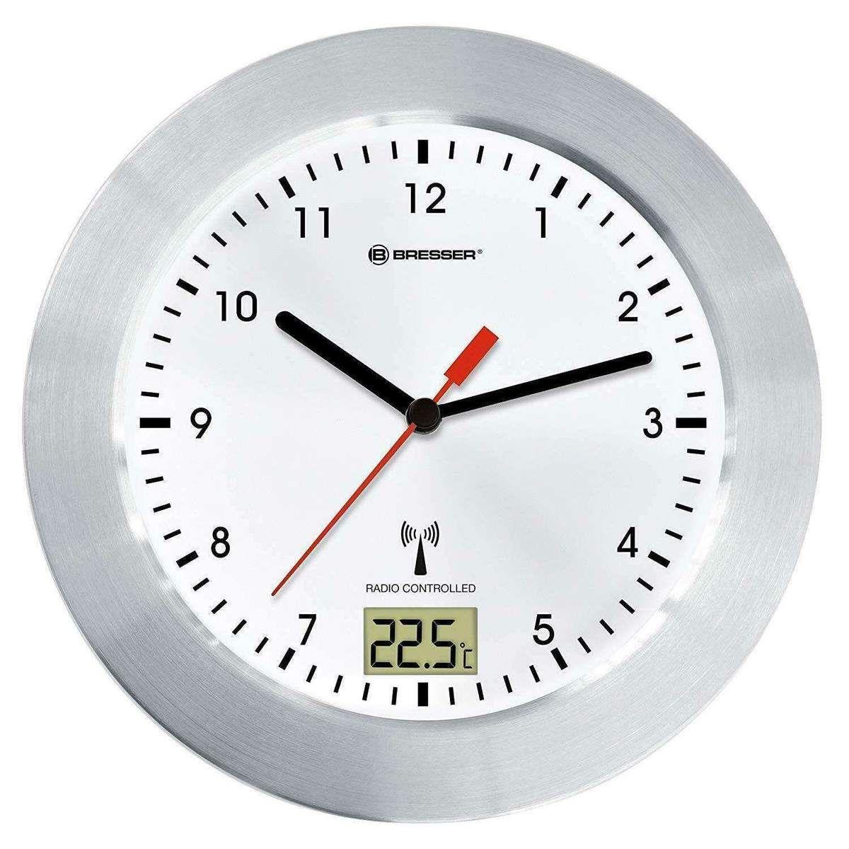 Neu Eingetroffen Bresser Mytime Bad Wanduhr Funkuhr Temperaturanzeige Saugnapfe Standfuss Weiss Ecommerce Onlineshop Angebot Wanduhr Funk Uhr