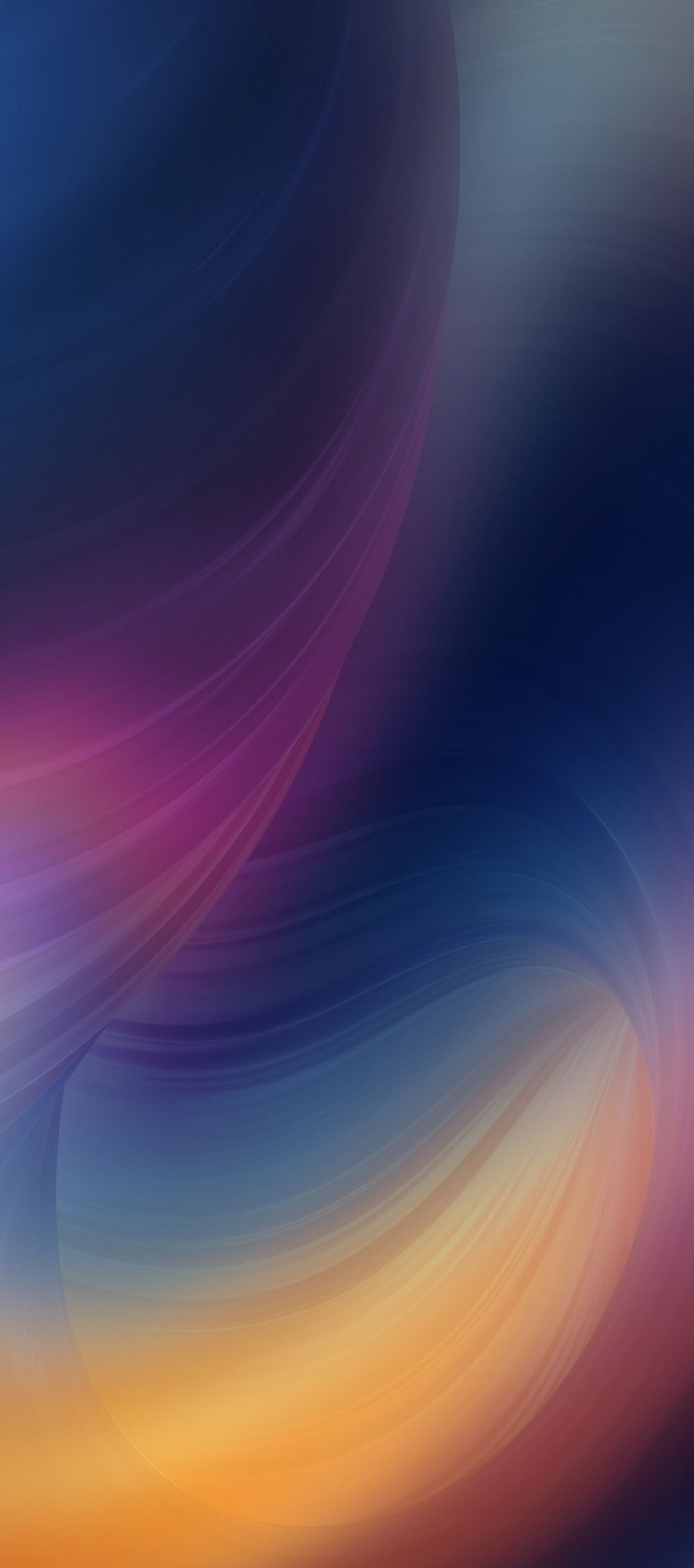ios 11, iphone x, purple, blue, clean, simple, abstract, apple