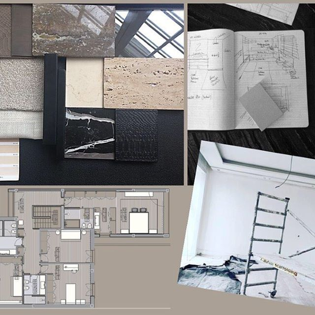Cjc Architecture And Interior Design Cjc Moodboard Work In