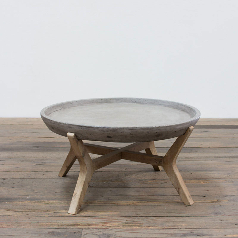Erstaunliche Drum Kaffee Tisch Schreibtisch Couchtisch Holz Runder Couchtisch Diy Runder Kaffeetisch