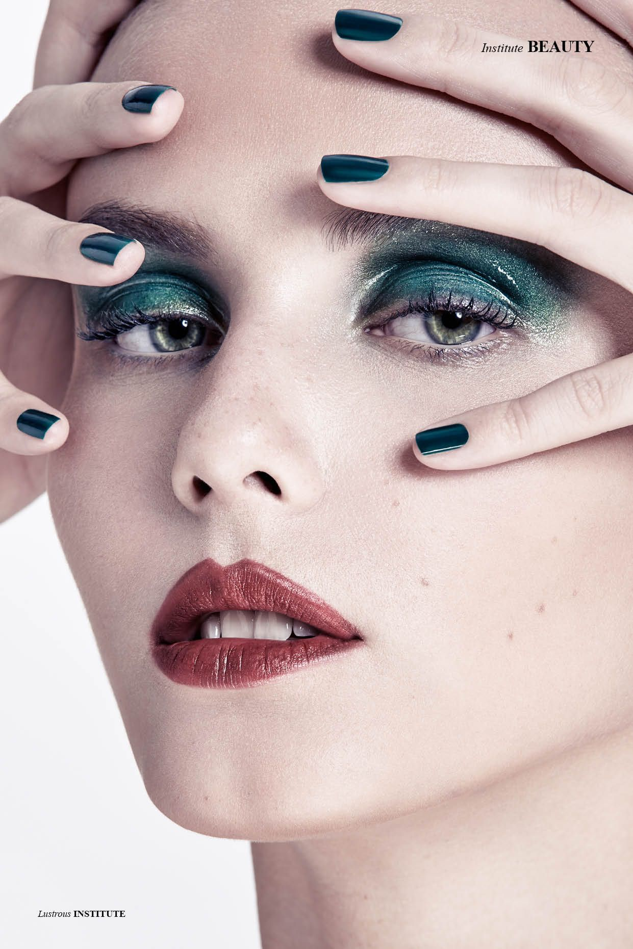 Lustrous - Make-up Artist & Nails Sharbel Hasbany Photographed by Fouad Tadros Model Miriama Chmurova