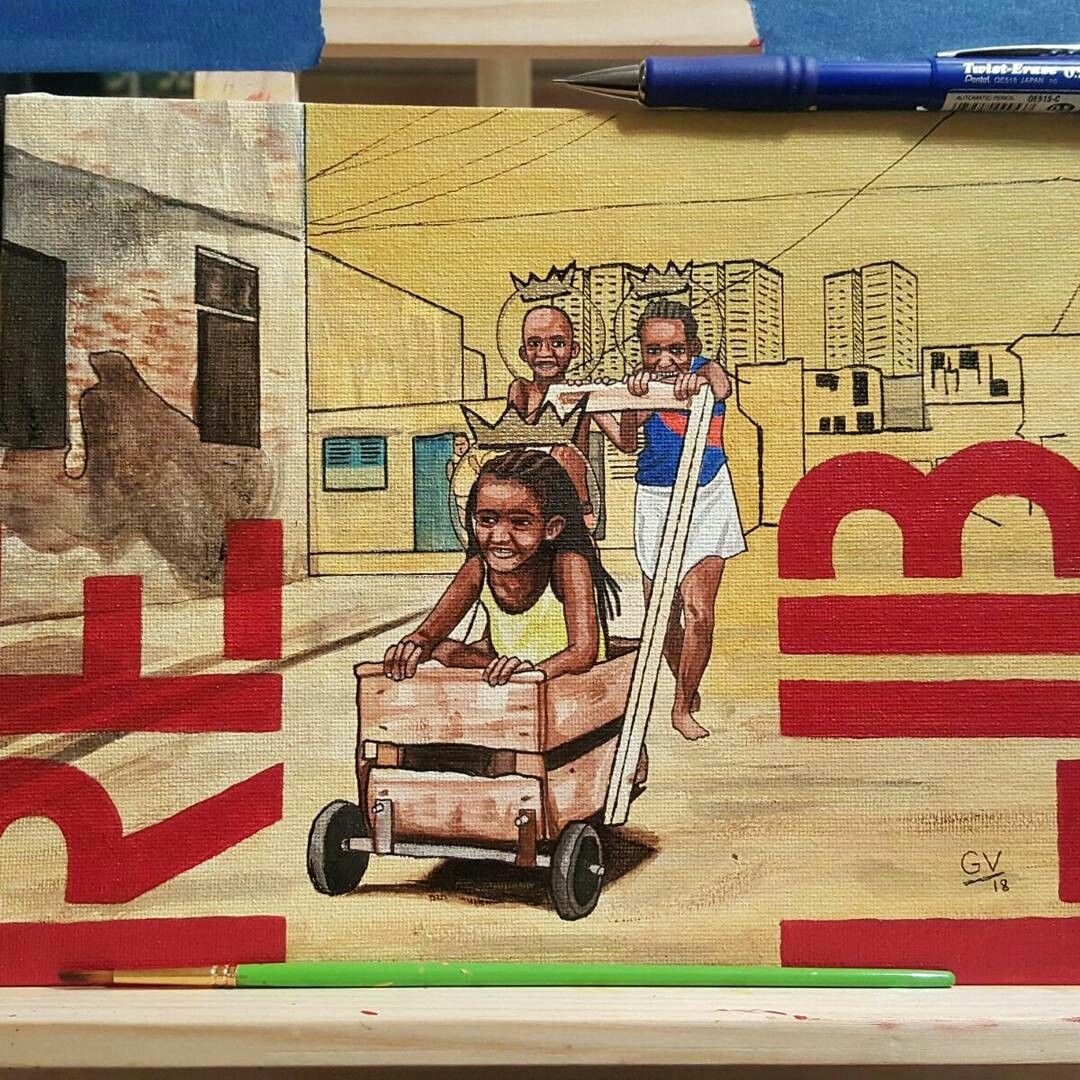 Libre. 8x10 Acrylic & Ink on canvas #art #artist #artwork #painting ...