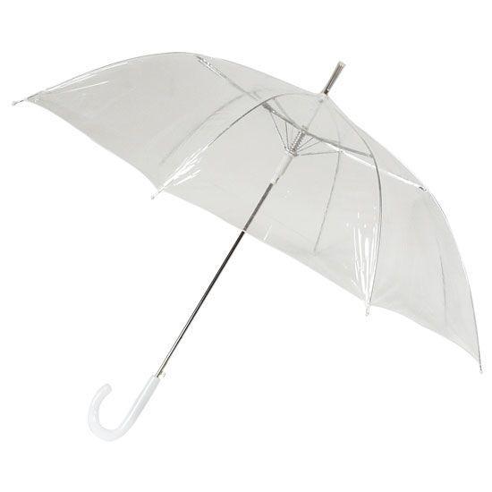 4bf3f75ad Transparent PVC Clear Umbrella | Stuff I Love | Transparent umbrella ...