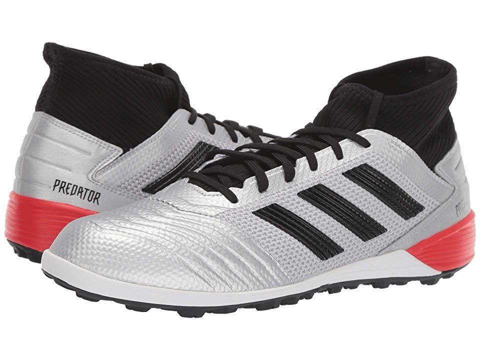 adidas Predator 19.3 TF Men's Soccer Shoes Silver Metallic