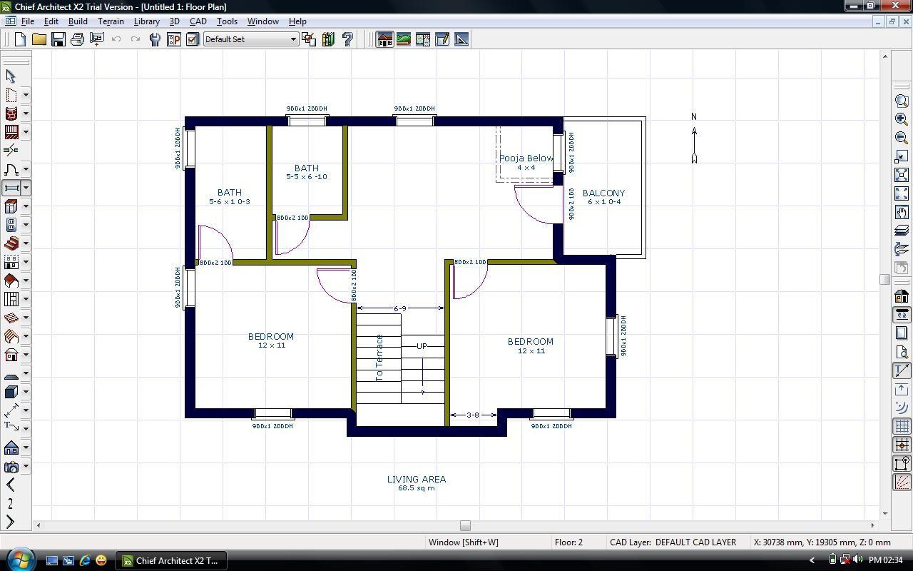 East Facing House Vastu Floor Plans Stairs Pinned By Modlar