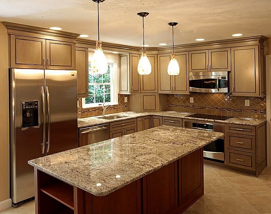 17 Best images about countertops on Pinterest | Quartz kitchen countertops,  Islands and Black countertops