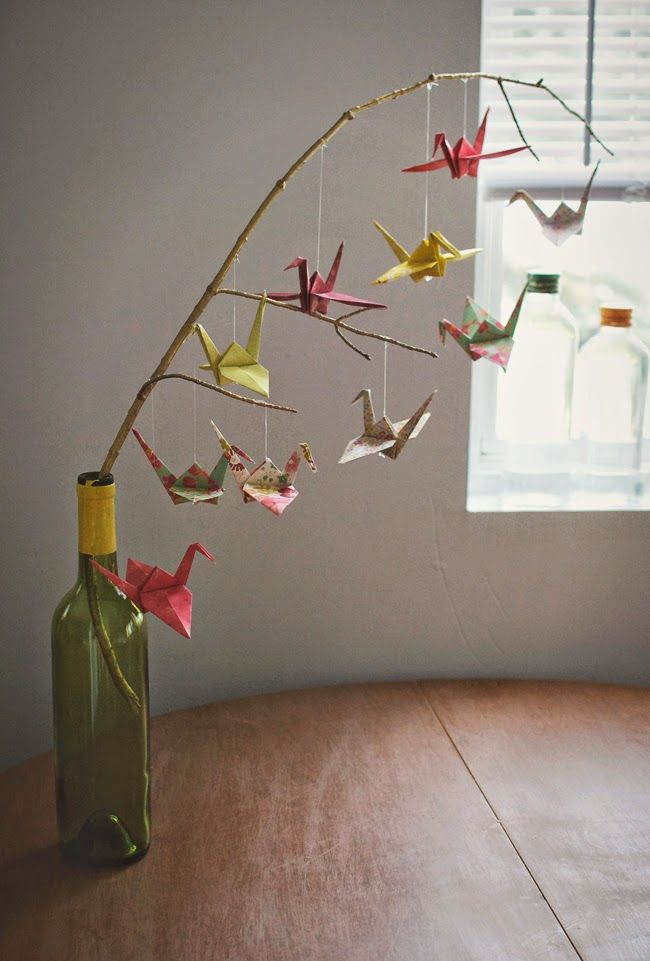 How To Make A Baby Mobile Cute And Colorful Ideas Paper Crane