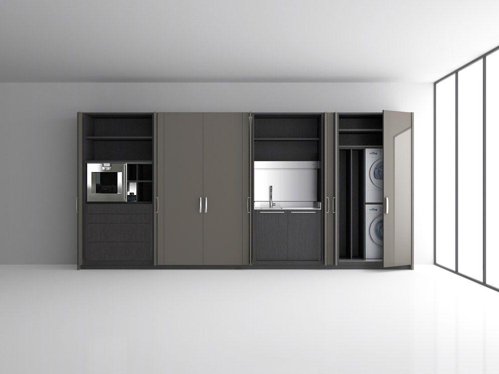 Cucine monoblocco: Colonne Duemilaotto di Boffi | Design Lissoni P ...