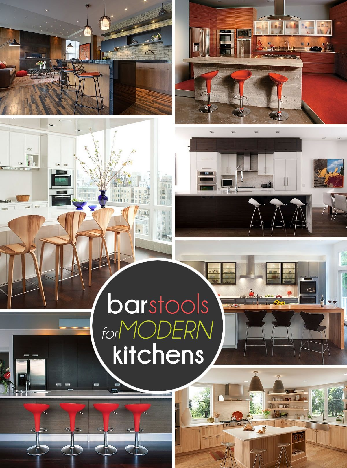 9 Trendy Bar And Counter Stools To Complete Your Modern Kitchen ...