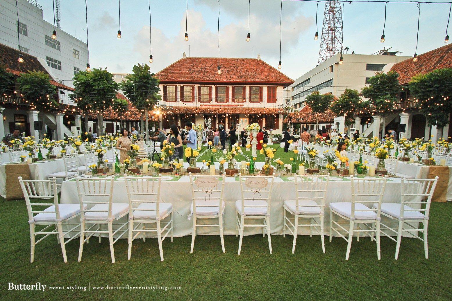 Top Lokasi Pernikahan Outdoor di Jakarta Pernikahan