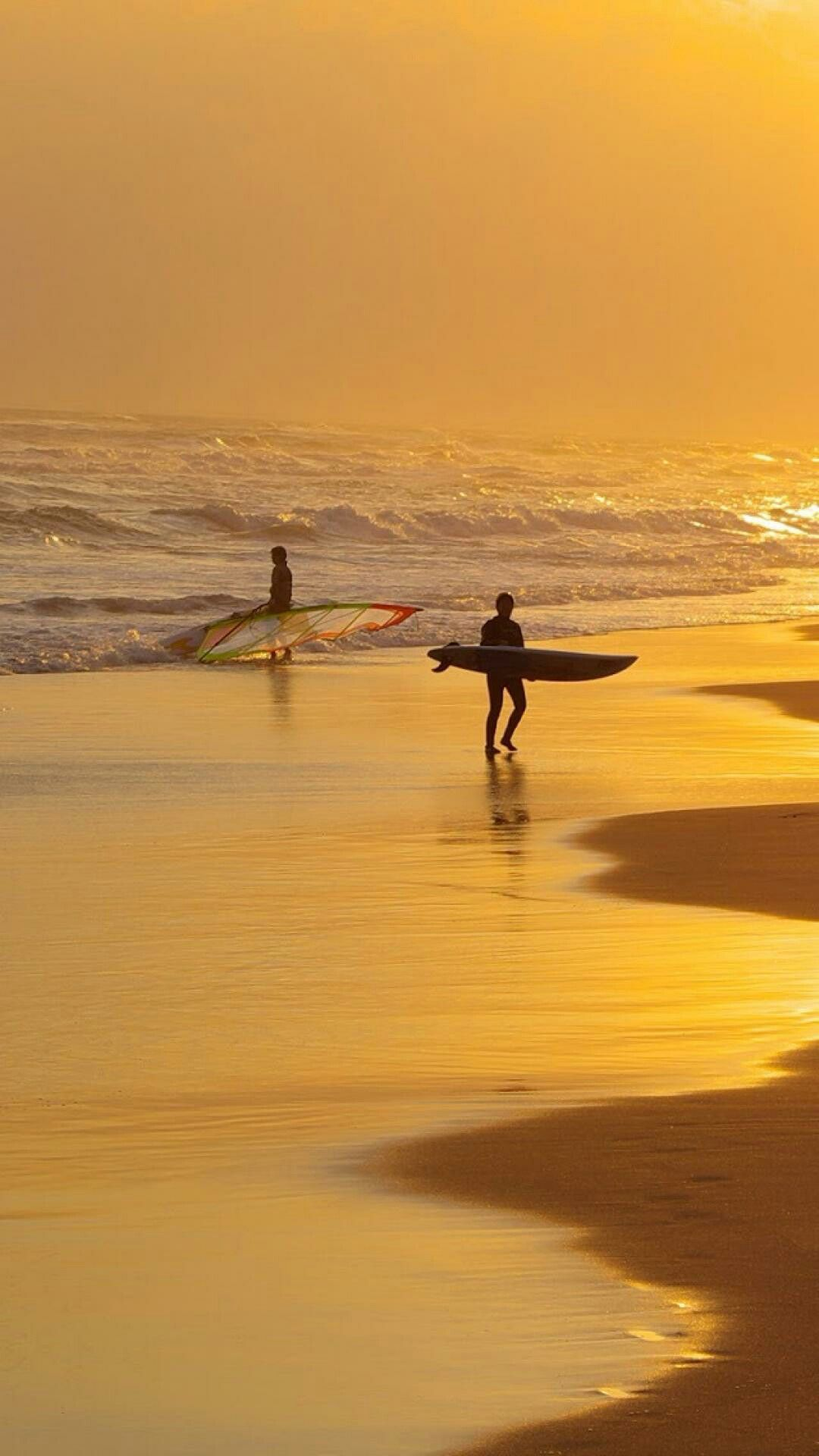 Pin By Kallol Bhattacharya On Sunsets And Sunrises Sunset Surf