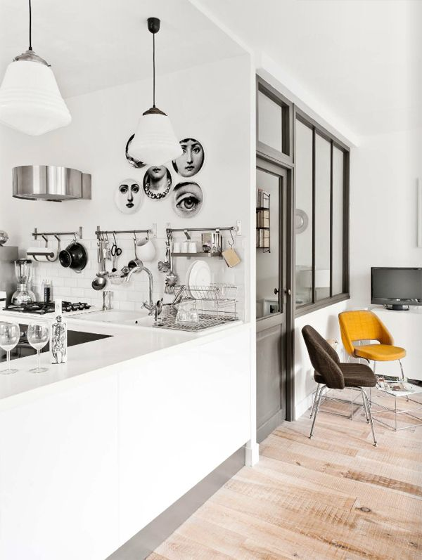 life as a moodboard: Black and White Kitchen Style