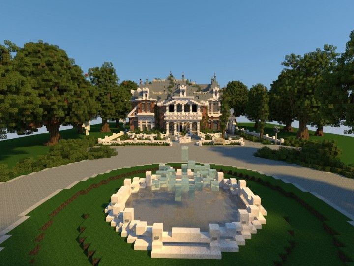 Renaissance Manor Minecraft Building Ideas Download Plantation House 2