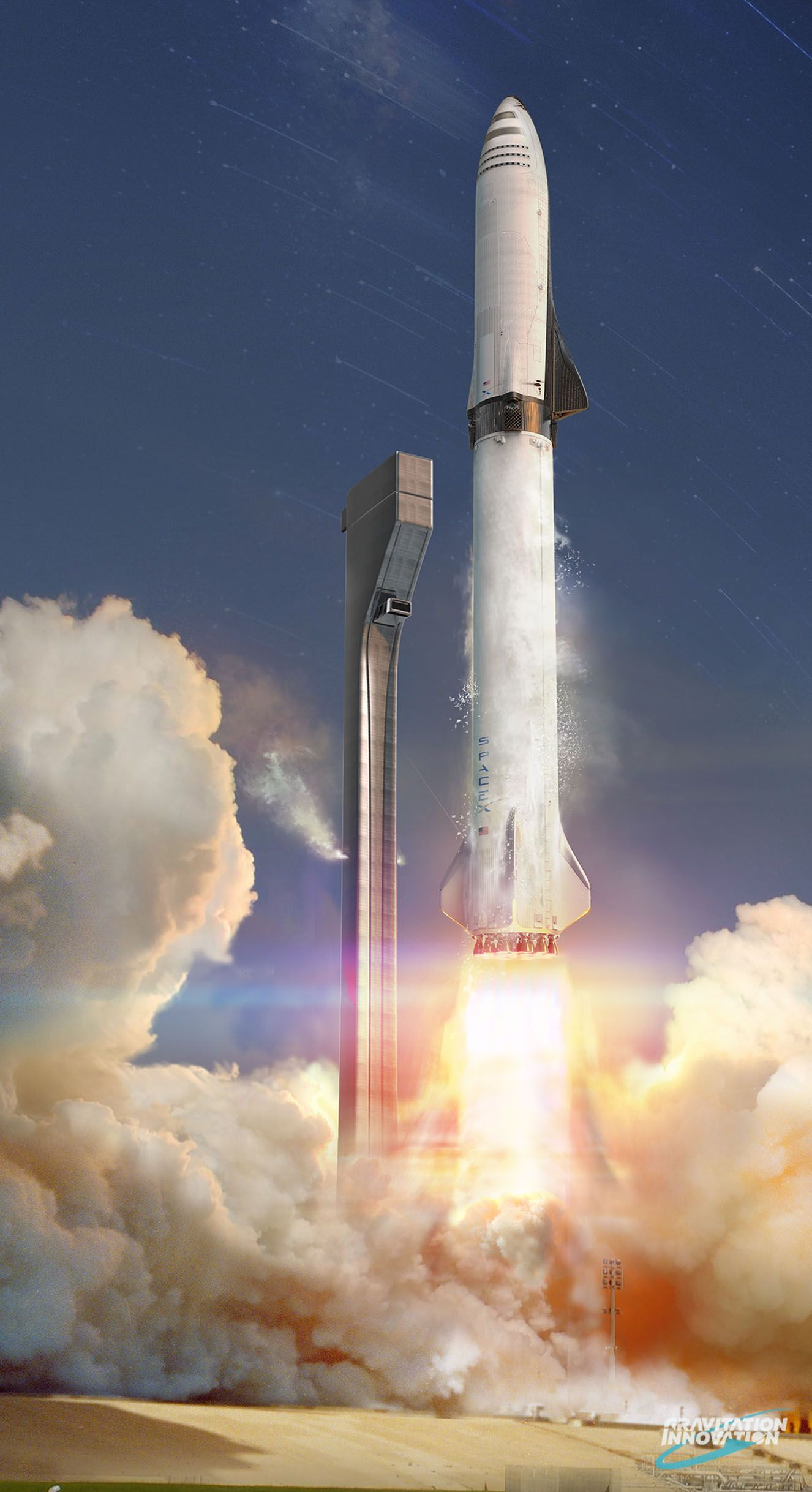 Bfr Launch Space Exploration Space Exploration Technologies Spacex Starship