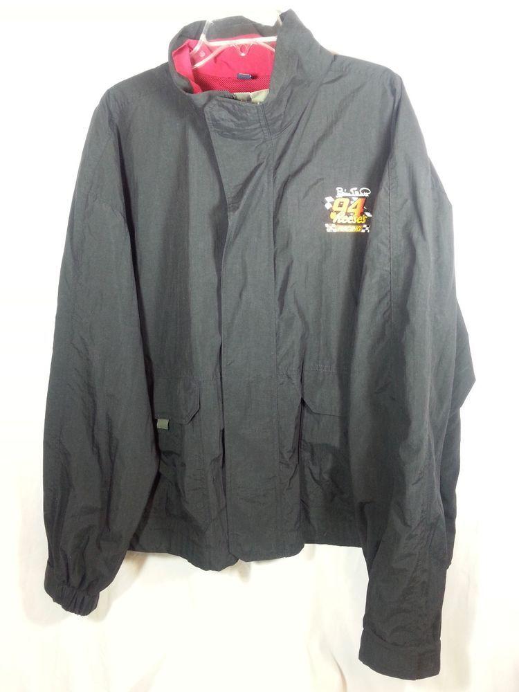 Bill Elliott 94 Nascar Reese's Racing Rain Jacket Coat