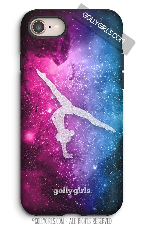 Colorful Galaxy Gymnastics Iphone Case Dance Iphone Case Volleyball Iphone Case Iphone Cases