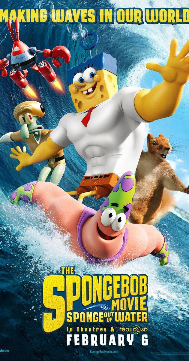 The Spongebob Movie Finally Came Out Kids Movies Spongebob Water Movie