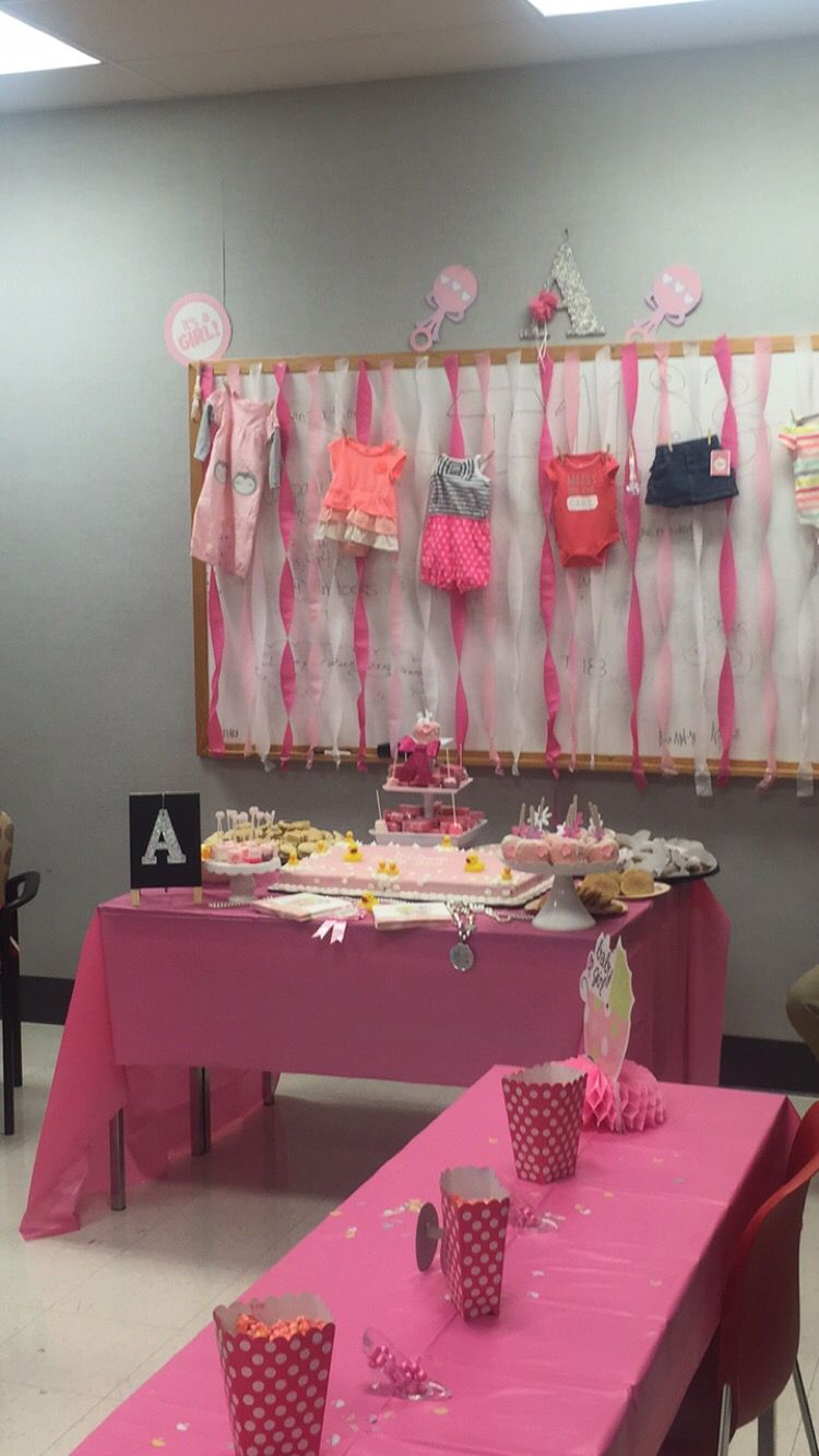 Clothes pink decorations