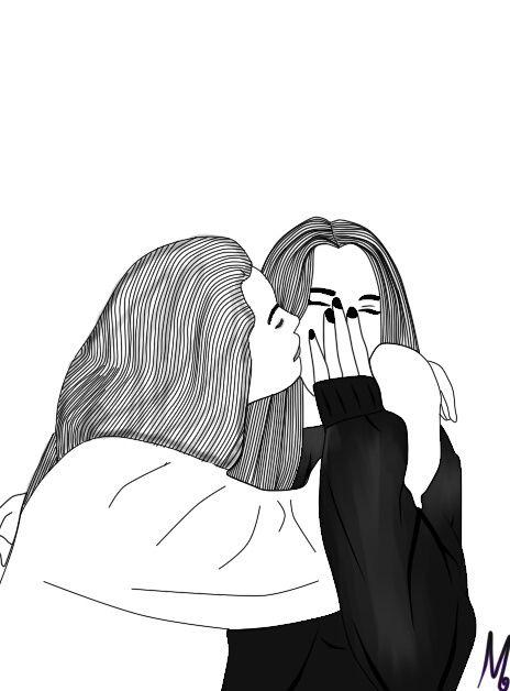 Best Friends Friends Friendship Girls Love Drawings Of Friends Best Friend Drawings Best Friend Sketches