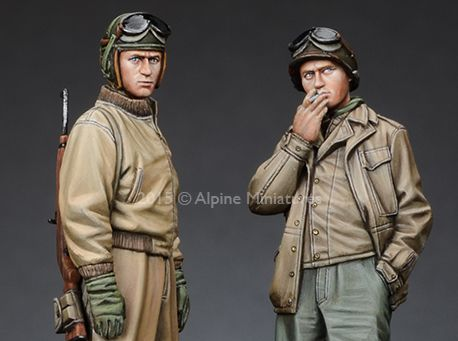 Army Airborne on Sherman #2 1//35 Scale Resin model kit WW2 U.S