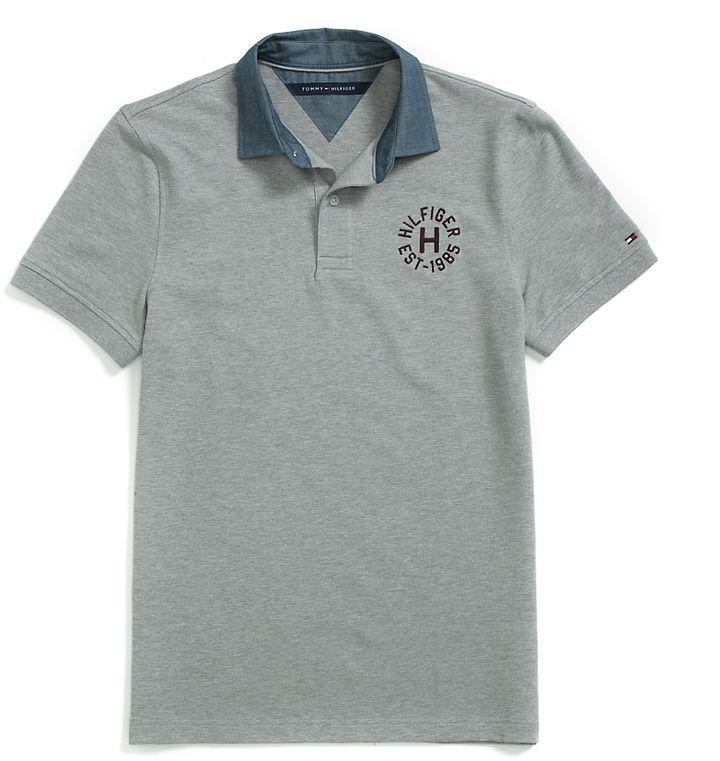 d2b47999 Tommy Hilfiger Custom Fit Polo - ShopStyle Men | men fsh | Polo ...