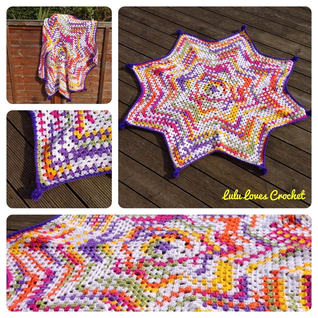 Lulu loves crochet the granny star blanket 1 crochet lulu loves crochet the granny star blanket bankloansurffo Images