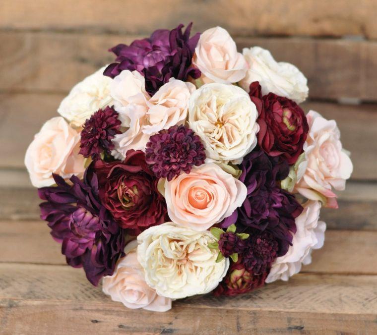 Fiori Settembre.Bouquet Sposa Settembre Composizioni Fiori Colori Autunnali Forma