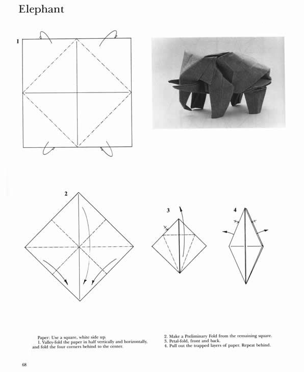 Dover Publications The Complete Book Of Origami  Step