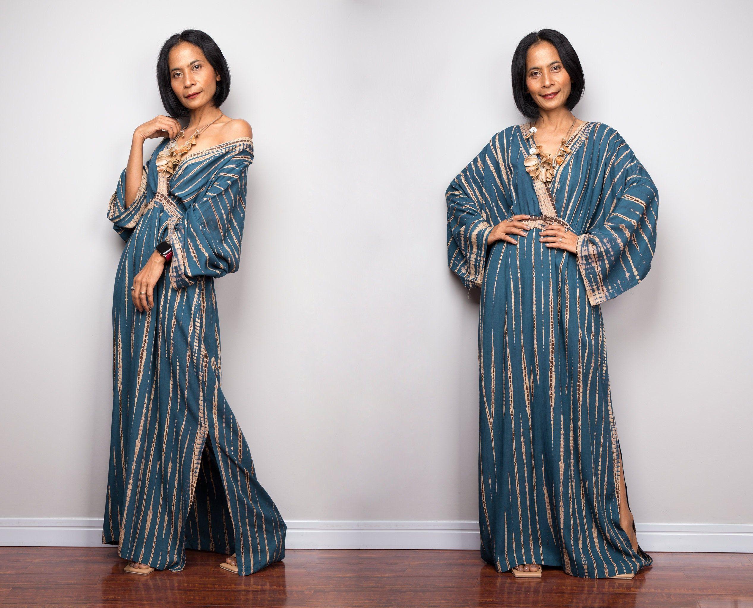 Tie Dye Kimono Kaftan Dress Beach Dress Teal Maxi Dress Etsy Tye Dye Maxi Dress Teal Maxi Dress Maxi Dress [ 2049 x 2534 Pixel ]