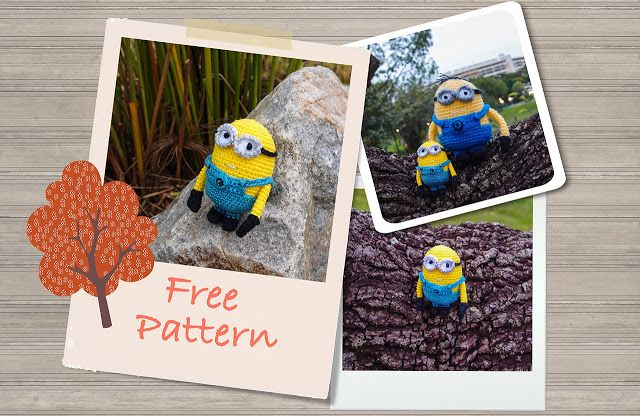 Despicable Me Minion Crochet Pattern Version 2 (Free) ~ Snacksies ...