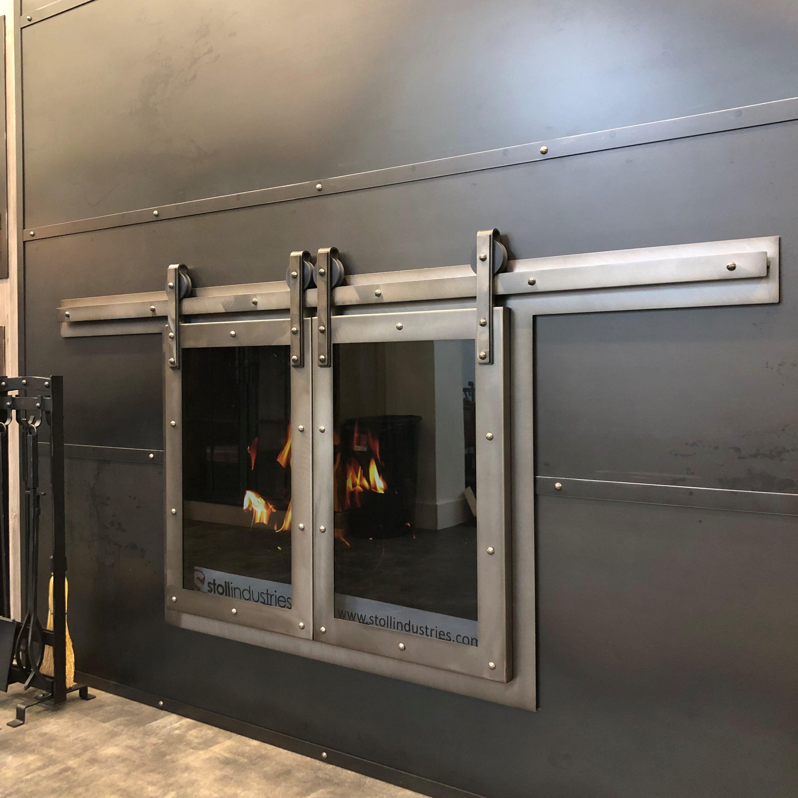 Sliding Door Fireplace Doors Fireplace Glass Doors Glass Fireplace