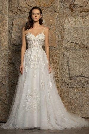 romantic wedding dresses romantic bridal gowns  brydealo
