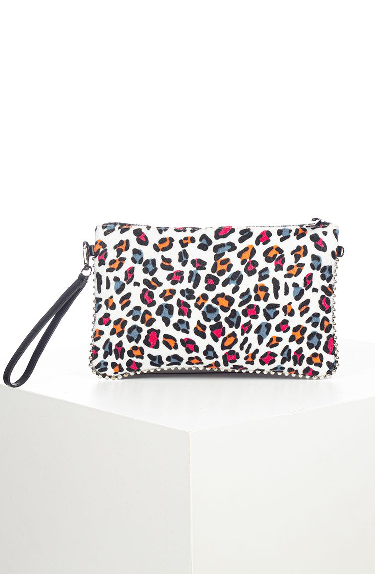 Photo of Women's Portfolio Bag with Long Strap – Colorful Pattern