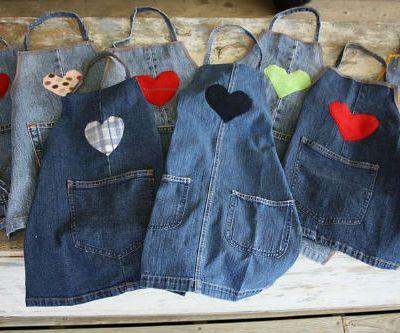 Своими руками старые джинсы фото 741
