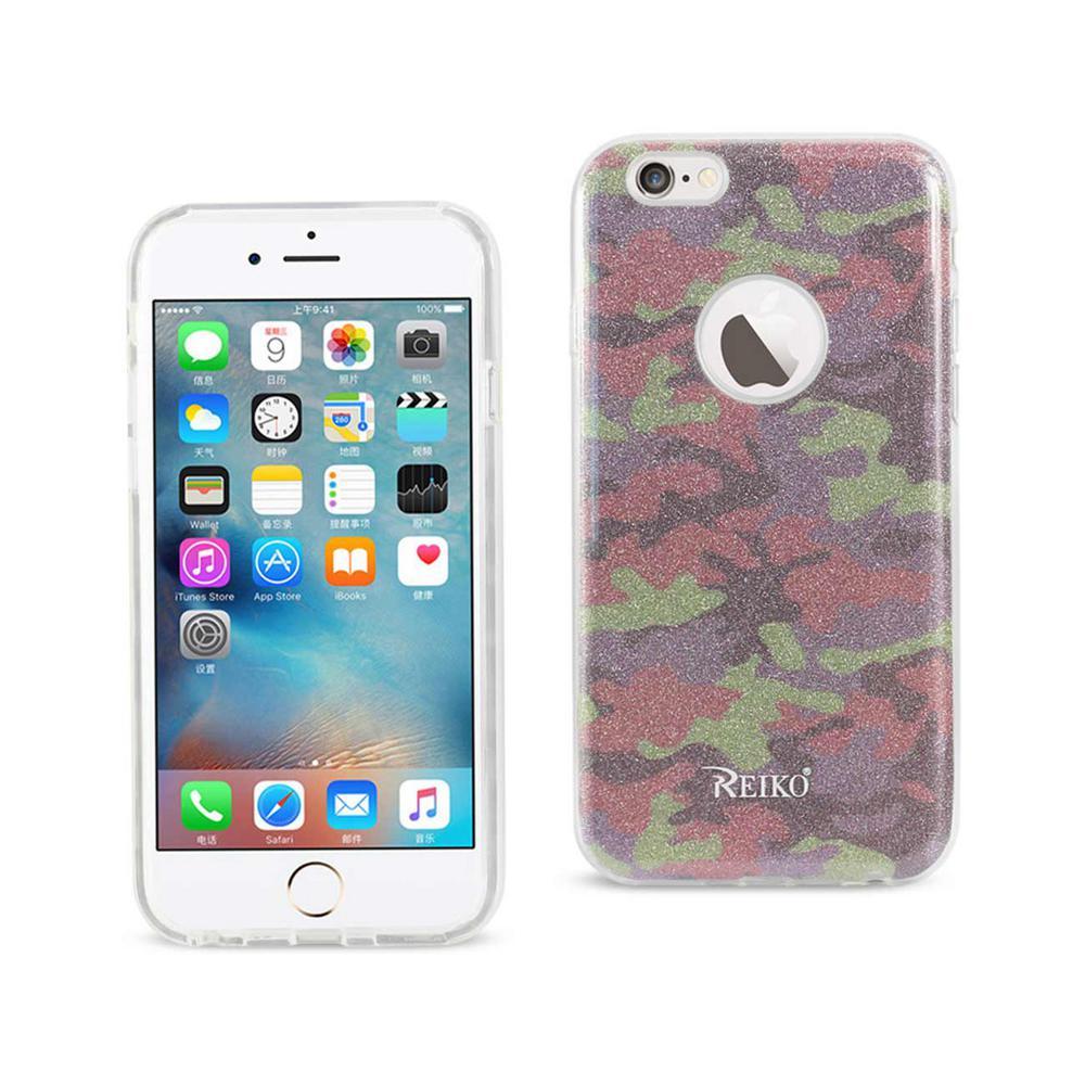 iPhone 6/6S Design Case in Army Purple