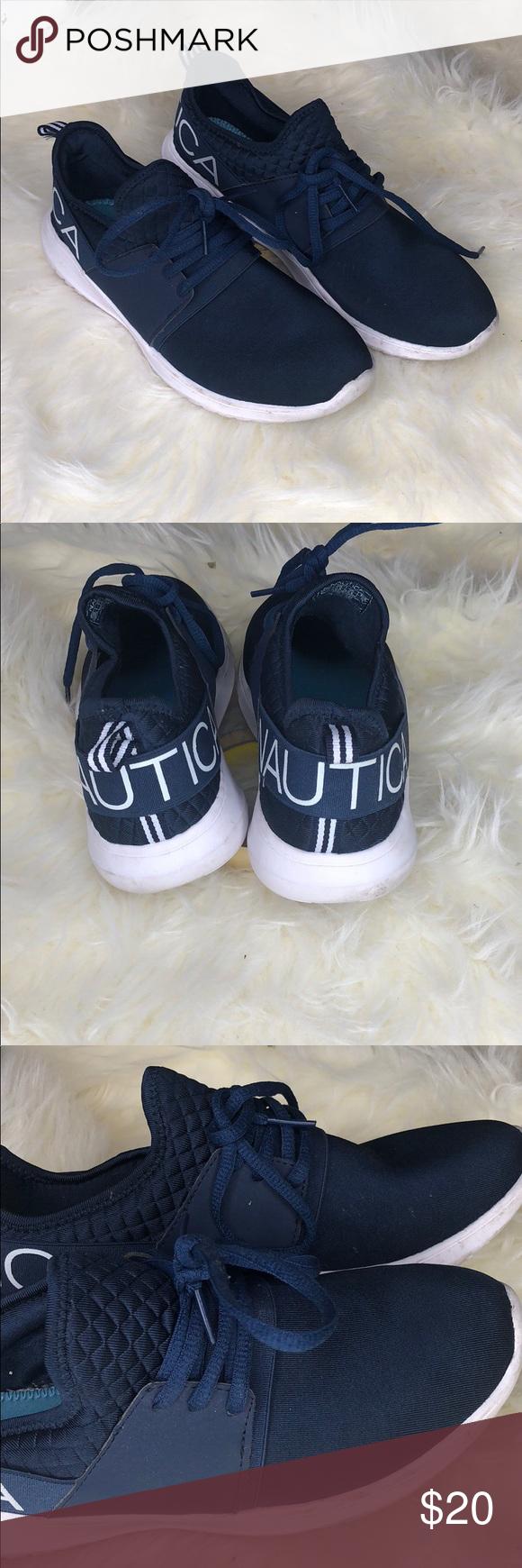 Nautica Navy Blue Tennis Shoes 👟   Navy