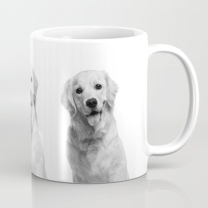 Cute Golden Retriever Coffee Mug by lovedesign07 # #cuteanimals #mugs