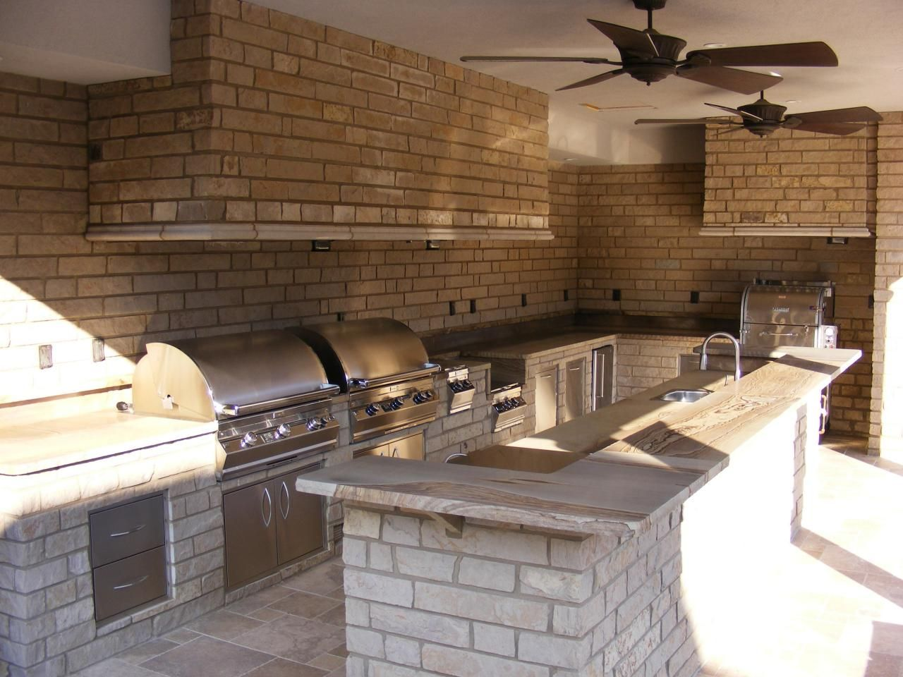 33 Amazing Outdoor Kitchens  Hgtv Kitchens And Deck Patio Amazing How To Design An Outdoor Kitchen Design Ideas
