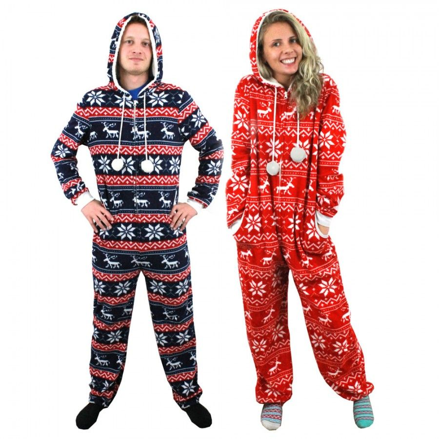 adult christmas onesie