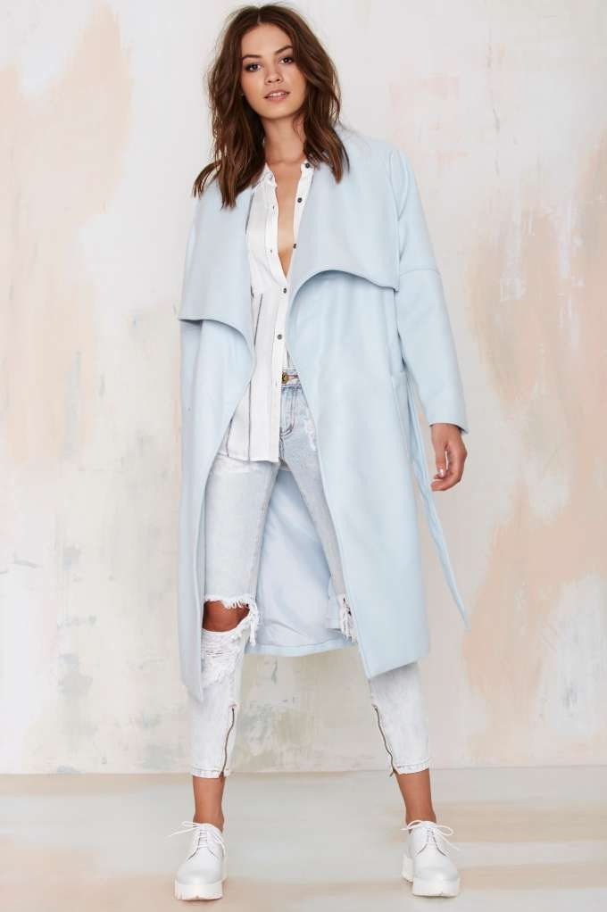 The Fifth City of Sound Oversized Coat//