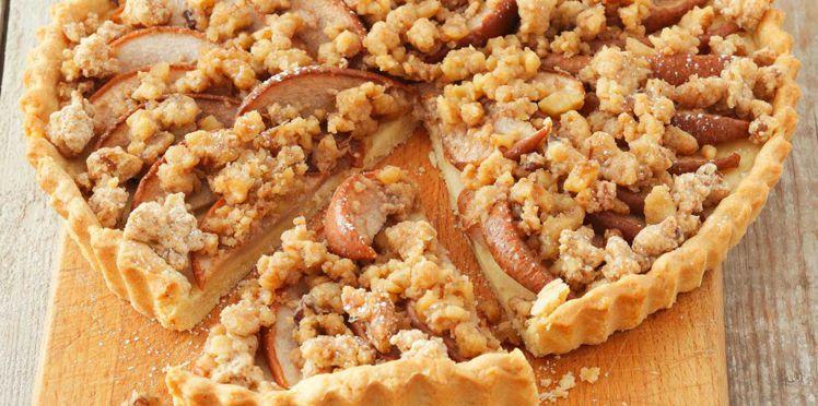 Tarte crumble aux pommes : découvrez les recettes de cuisine de Femme Actuelle Le MAG